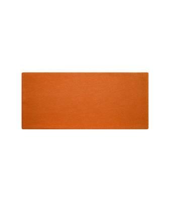 Extrabreites Stirnband Cei aus Biobaumwolle-orange-one size-