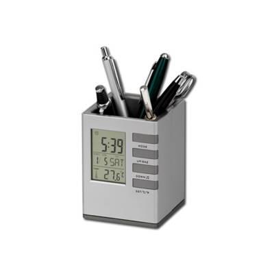 FABRIZIO Stiftständer mit Uhr