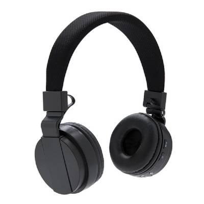 Faltbare Bluetooth Kopfhörer Pasewalk - schwarz