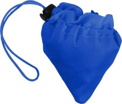 Faltbare Einkaufstasche Edge aus Polyester-blau(kobaltblau)