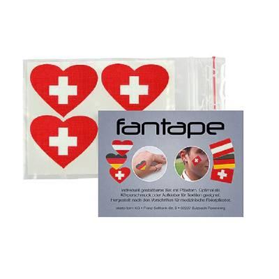 Fantape Herz 4er-Set