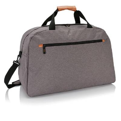 Fashion Duo Tone Reisetasche - grau