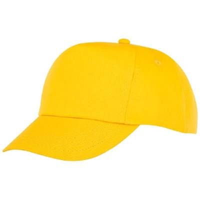 Feniks Cap mit 5 Segmenten für Kinder-gelb-one size