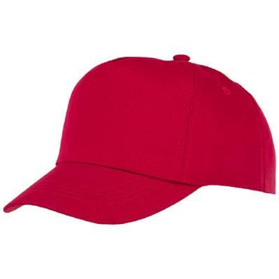 Feniks Cap mit 5 Segmenten für Kinder-rot-one size