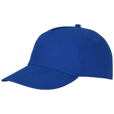 Feniks Kappe mit 5 Segmenten-blau-one size