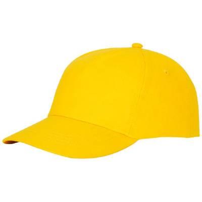 Feniks Kappe mit 5 Segmenten-gelb-one size