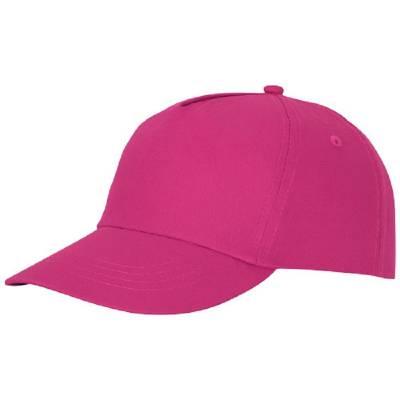 Feniks Kappe mit 5 Segmenten-rosa-one size
