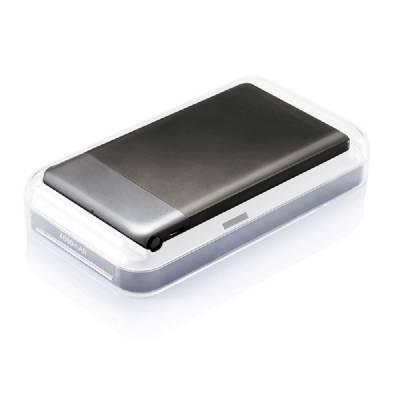 Flache Powerbank - schwarz - 4600 mAh