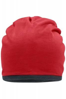 Fleece Beanie Cade-rot-one size-unisex