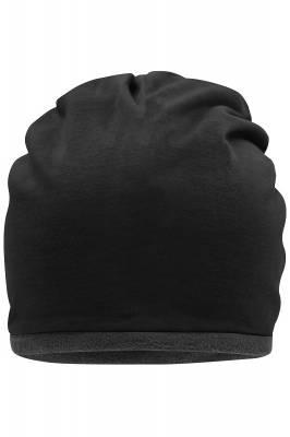 Fleece Beanie Cade-schwarz-one size-unisex