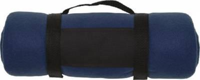Fleece-Picknickdecke Englischer Garten-blau