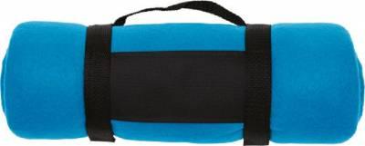 Fleece-Picknickdecke Englischer Garten-blau(hellblau)