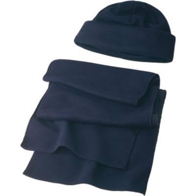 Fleece Set Bad Oldesloe, Mütze und Schal