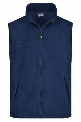 Fleece Weste JN045-blau(navyblau)-S