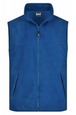Fleece Weste JN045-blau(royalblau)-XL