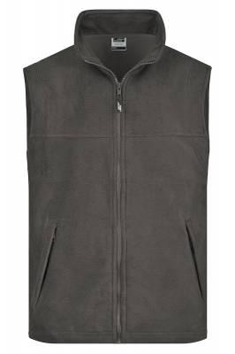 Fleece Weste JN045-grau(dunkelgrau)-S