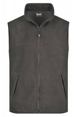 Fleece Weste JN045-grau(dunkelgrau)-XL