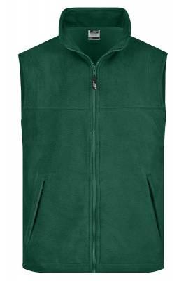 Fleece Weste JN045-grün(dunkelgrün)-XL