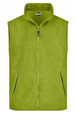 Fleece Weste JN045-grün(limettgrün)-XL