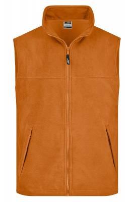Fleece Weste JN045-orange-XXL
