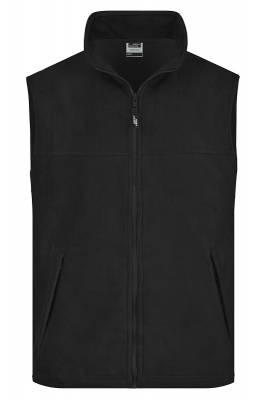 Fleece Weste JN045-schwarz-XL