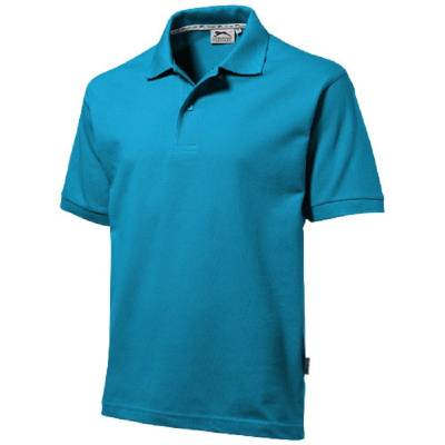 Forehand Kurzarm Poloshirt-blau(aquablau)-XXXL