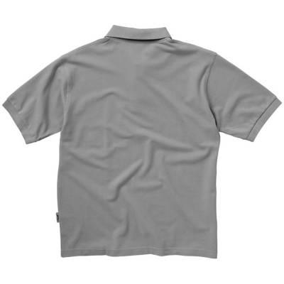 Forehand Kurzarm Poloshirt-grau-S