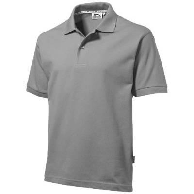 Forehand Kurzarm Poloshirt-grau-XXXL
