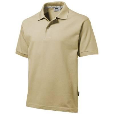 Forehand Kurzarm Poloshirt-braun(khakibraun)-XXXL