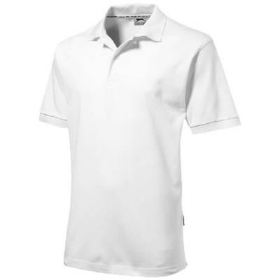 Forehand Kurzarm Poloshirt-weiß-XXXL