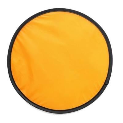 Wurfscheibe Frisbee Gießen, faltbar-orange