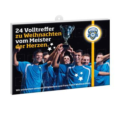 Fußball-Schoko-Adventskalender BUSINESS