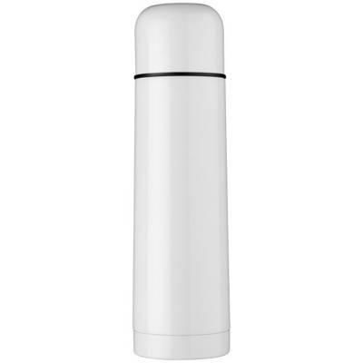 Gallup Vakuum Isolierflasche-weiß