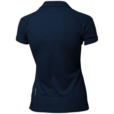 Game Damen Kurzarm Poloshirt-blau(navyblau)-S