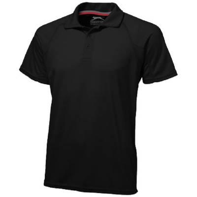 Slazenger Game Herren Poloshirt - schwarz - L