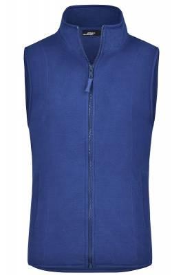 Girly Microfleece Weste JN048-blau(royalblau)-XL