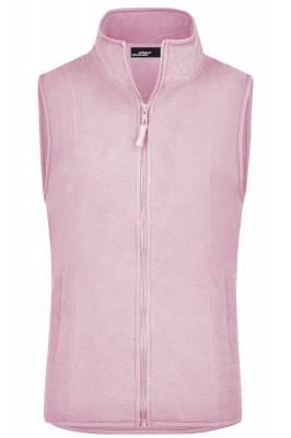 Girly Microfleece Weste JN048-pink-XXL