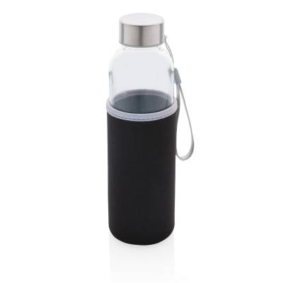 Glasflasche Recklinghausen mit Neopren-Sleeve
