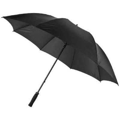 Grace 30 Zoll windfester Golfschirm mit EVA-Griff-schwarz