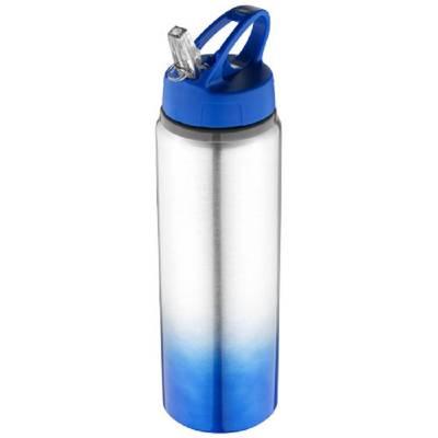 Gradient Trinkflasche-blau(mittelblau)