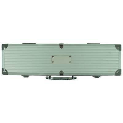 Grillset Gladbeck in Aluminiumbox-silber