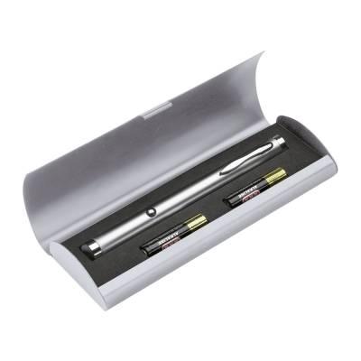 Grüner Laserpointer REFLECTS-FORMOSA - silber