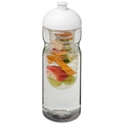 H2O Base® 650 ml Sportflasche mit Stülpdeckel und Infusor