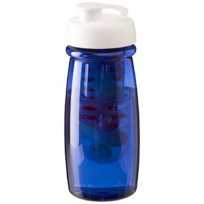H2O Pulse® 600 ml Sportflasche mit Klappdeckel und Infusor