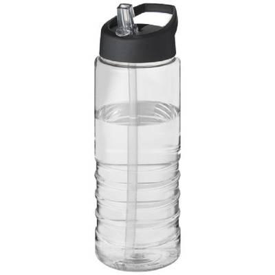 H2O Treble 750 ml Sportflasche mit Ausgussdeckel
