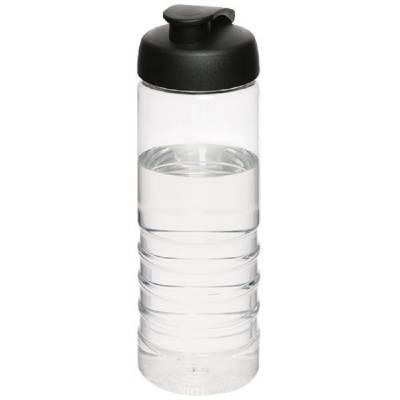 H2O Treble 750 ml Sportflasche mit Klappdeckel