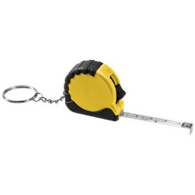 Habana Schlüsselanhänger mit 1 m Maßband-gelb