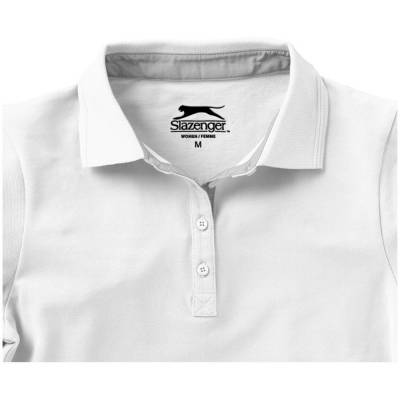 Slazenger Hacker Damen Poloshirt - weiss - S