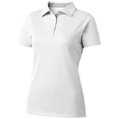 Slazenger Hacker Damen Poloshirt - weiss - XXL