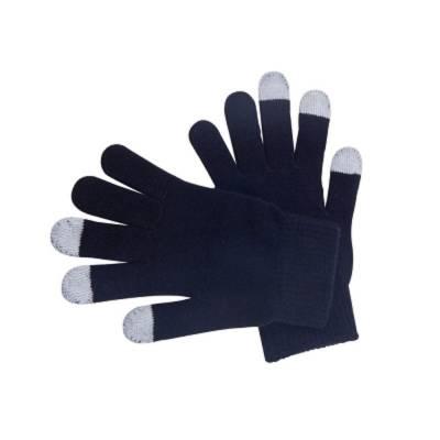 Handschuhe für Touchscreendisplays - schwarz